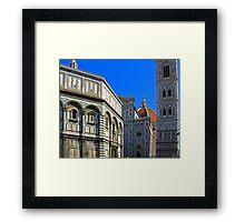Piazza del Duomo Framed Print