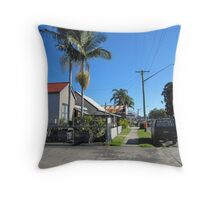 'Woodburn' Country town on Pacific Highway. N.S.W. Throw Pillow