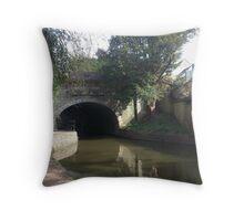 Tunnel of Bath Throw Pillow