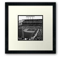 At&t Park: Baseball Photograph Framed Print