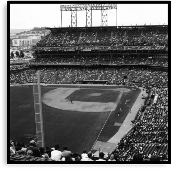 At&t Park: Baseball Photograph by andrewbutte