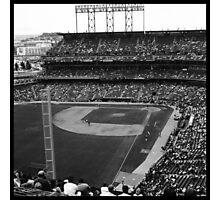 At&t Park: Baseball Photograph Photographic Print