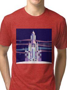 Ice Castle Tri-blend T-Shirt