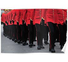 RMC Cadets Marching Poster