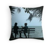 Palm Cove Throw Pillow