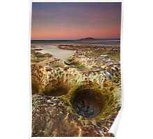 Green Point Beach Potholes Poster