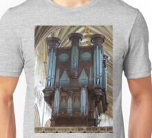 Voice of Thunder - Exeter Cathedral Organ Pipes Unisex T-Shirt