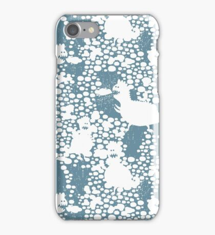 Snow dragons iPhone Case/Skin