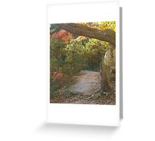 The Bluff at Hocking Hills Greeting Card