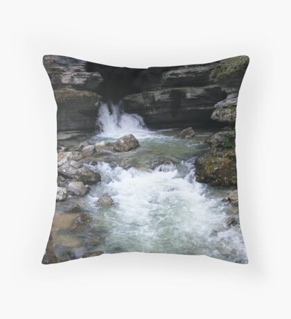 Blanchard Springs Throw Pillow