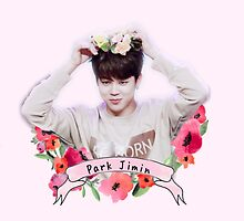 Flower Power Jimin by Itsxholly