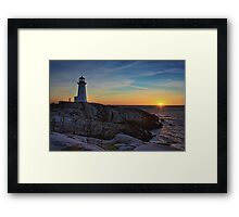 Solitude Standing Framed Print