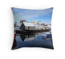 Stillness at the Cove Throw Pillow