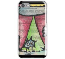Abducted iPhone Case/Skin