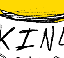 King Dollophead Sticker