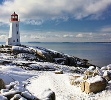Snow Capped Peggy's by Amanda White
