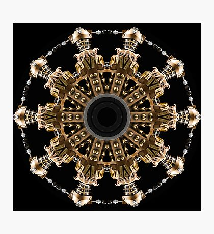 Dalek Kaleidoscope 07 Photographic Print