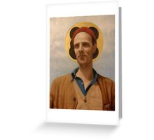 Saint Ingmar Greeting Card