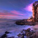 Victoria Beach at Dusk by Eddie Yerkish