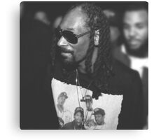 Snoop Dogg out and about at the Straight Outta Compton Premier Canvas Print