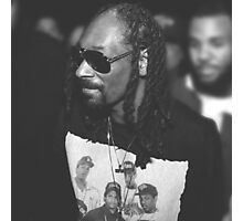 Snoop Dogg out and about at the Straight Outta Compton Premier Photographic Print