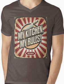 VINTAGE KITCHEN  Mens V-Neck T-Shirt