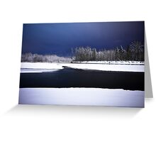 Wallace and Skykomish Rivers Greeting Card