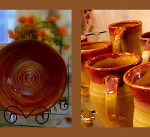 A Day at the Pottery - Still Life Diptych by ctheworld
