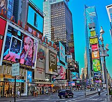 Times Square New York City by mattking2