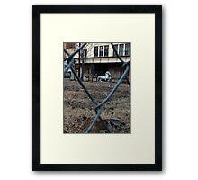 The Silver Hobby Horse - 1 Framed Print