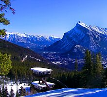 Tea House Blues - Mt. Norquay by JamesA1
