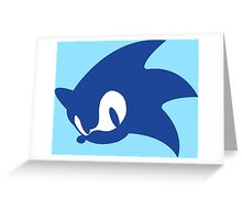 Sonic Logo Greeting Card