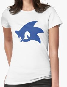Sonic Logo Womens Fitted T-Shirt