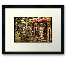 Telephone Parking in Shanghai Framed Print