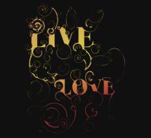 Live, Love One Piece - Short Sleeve