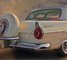 1956 Thunderbird w/Continental Kit by Mike Capone