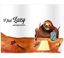 Slothy Poster