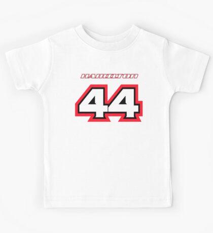 Lewis HAMILTON_2014_Helmet #44 Kids Tee