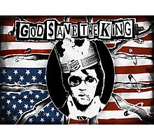 God Save The King Photographic Print