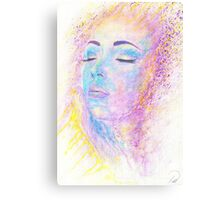Di Sole e D'azzuro (Of Sun and Blue) Canvas Print
