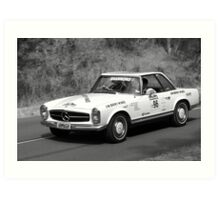 Mercedes Benz 280SL Art Print