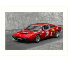 Ferrari 308 GT4 Duo Art Print