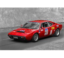 Ferrari 308 GT4 Duo Photographic Print