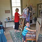 'Artist's at Work' by Lynda Robinson
