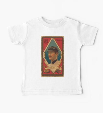 Benjamin K Edwards Collection Harold W Chase New York Yankees baseball card portrait Baby Tee