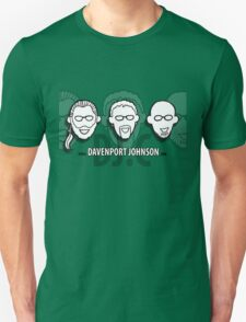 Davenport Johnson website FACES  Unisex T-Shirt