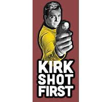 Kirk Shot First Photographic Print