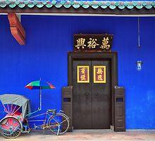 Cheong Fatt Tze Mansion Facade by S T