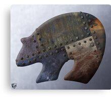 Rusty Bear Metals Canvas Print