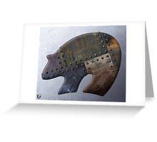 Rusty Bear Metals Greeting Card